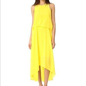 CEDRIC CHARLIER Sleeveless Yellow Dress